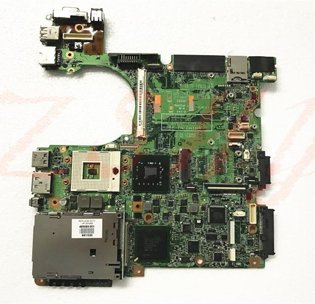 500907-001 for hp elitebook 8530p 8530w laptop motherboard ddr2 07224-3 48.4v801 2