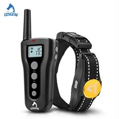 Luxury custom reflective remote anti bark shock dog training collar