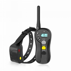 Patpet high quality electric 1000M remote waterproof shock training collar