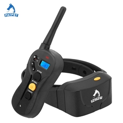 Patpet amazon hot remote controlled electric dog training collar