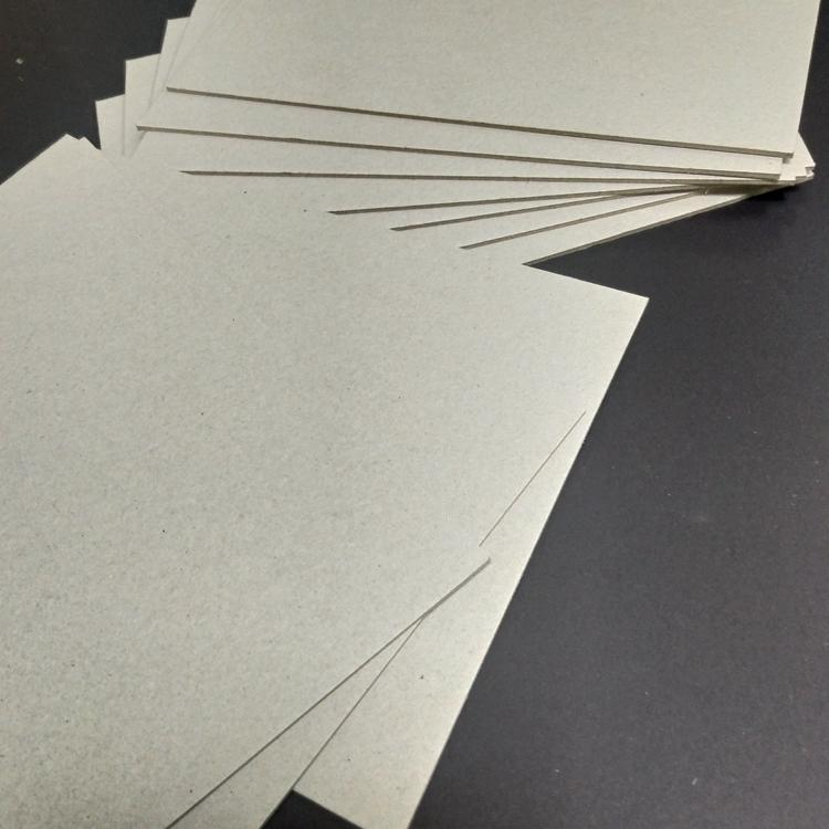 Hard stiffness grey chipboard paper used for puzzle 3