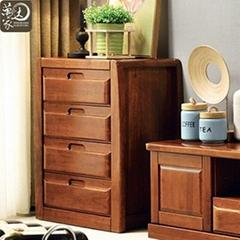 簡約中式實木電視櫃客廳電視櫃