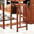 家用厨房客厅隔断实木胡桃木酒吧吧台 1