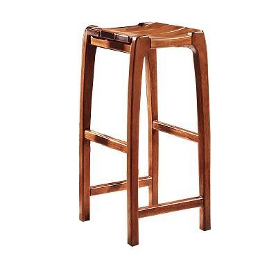 家用厨房客厅隔断实木胡桃木酒吧吧台 3