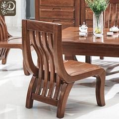 实木茶桌现代中式胡桃木