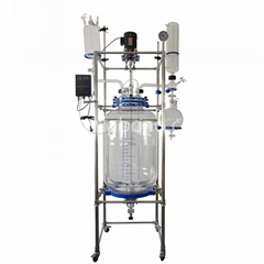 1L/2L/3L/5L/10L/20L/30L/50L/100L/200L Jacketed Glass Reactor