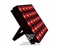 25頭10W LED矩陣光束染色燈