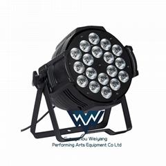 LED 18颗10W RGBW 四合一全彩帕灯