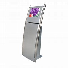 Touch screen LCD digital signage media Player