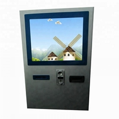 Hot sale wall mounted information payment kiosk for sale