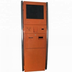 Best discount stocked free standing touch screen multifunction payment kiosk