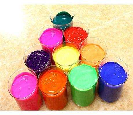 注塑涂料油墨荧光颜料 5