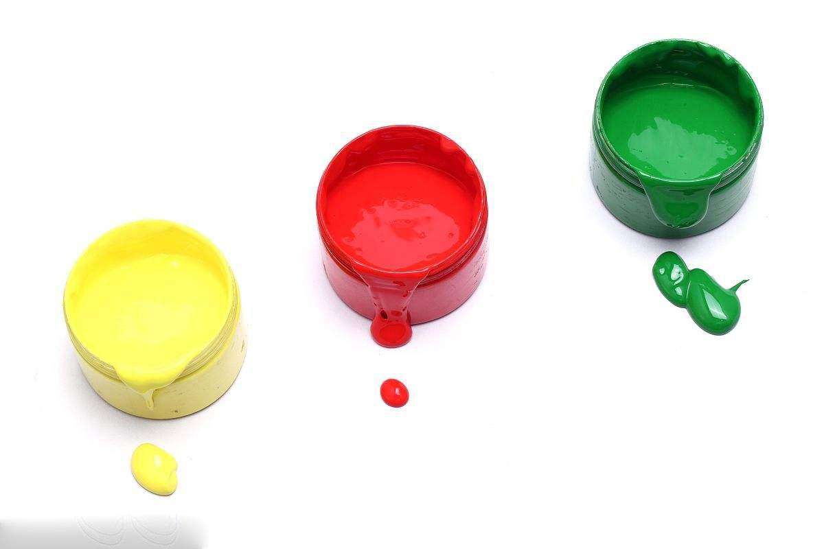 Injection coating ink fluorescent pigment 3