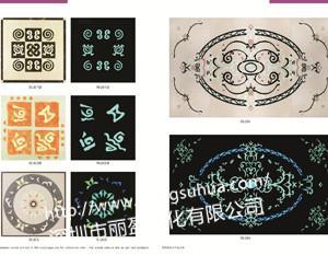 Ink printing injection long and short luminous material 3