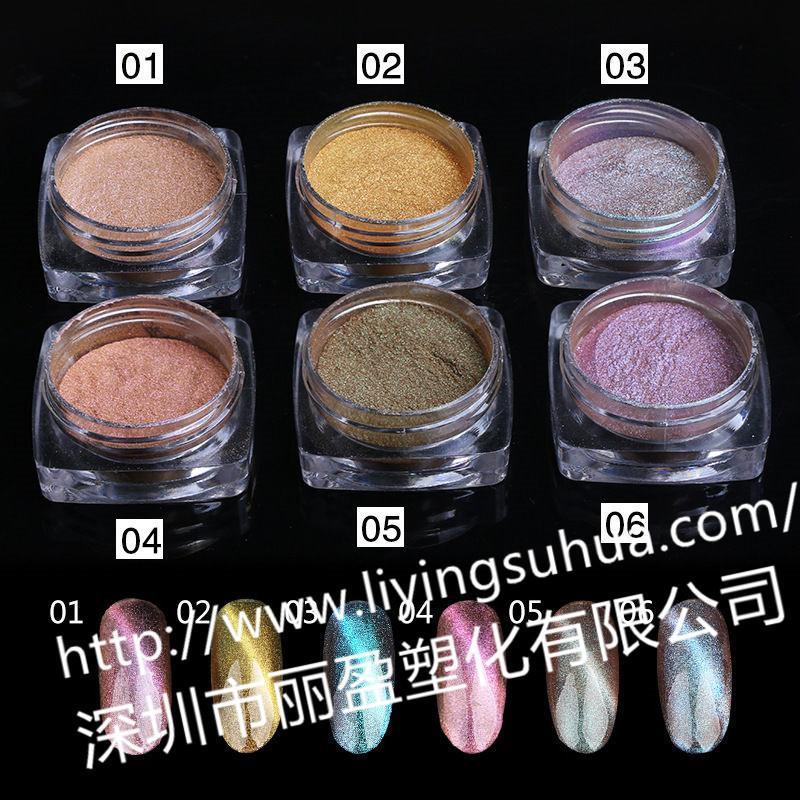 Chameleon pearlescent pigment 7