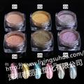 高档指甲油 化妆品用变色颜料  变色龙珠光颜料