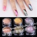 高檔指甲油 化妝品用變色顏料  變色龍珠光顏料 5