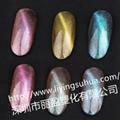 高檔指甲油 化妝品用變色顏料  變色龍珠光顏料 6