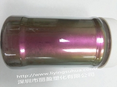 Chameleon pearlescent pigment
