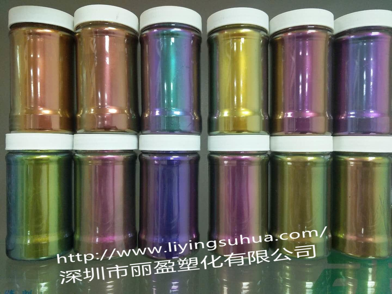 Chameleon pearlescent pigment 3