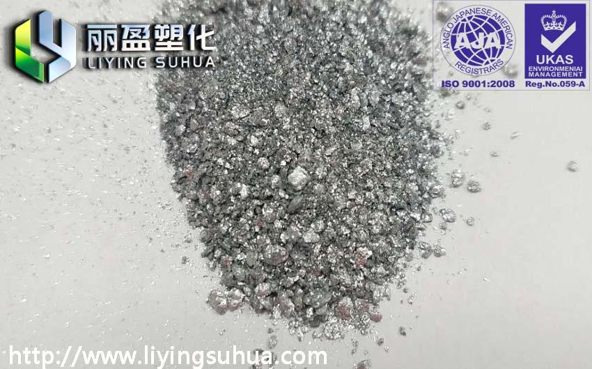 Aluminium pigment for plasticsSi  er powder si  er sand 3