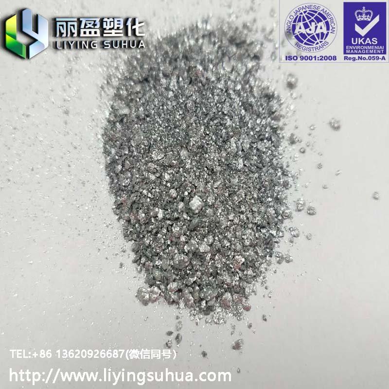 Aluminium pigment for plasticsSi  er powder si  er sand 2