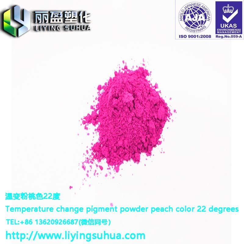 Feel color changing powder 5