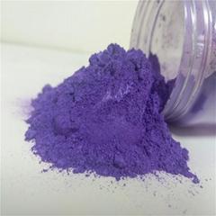 Cosmetic pearl powder, nail polish highlight pearlescent