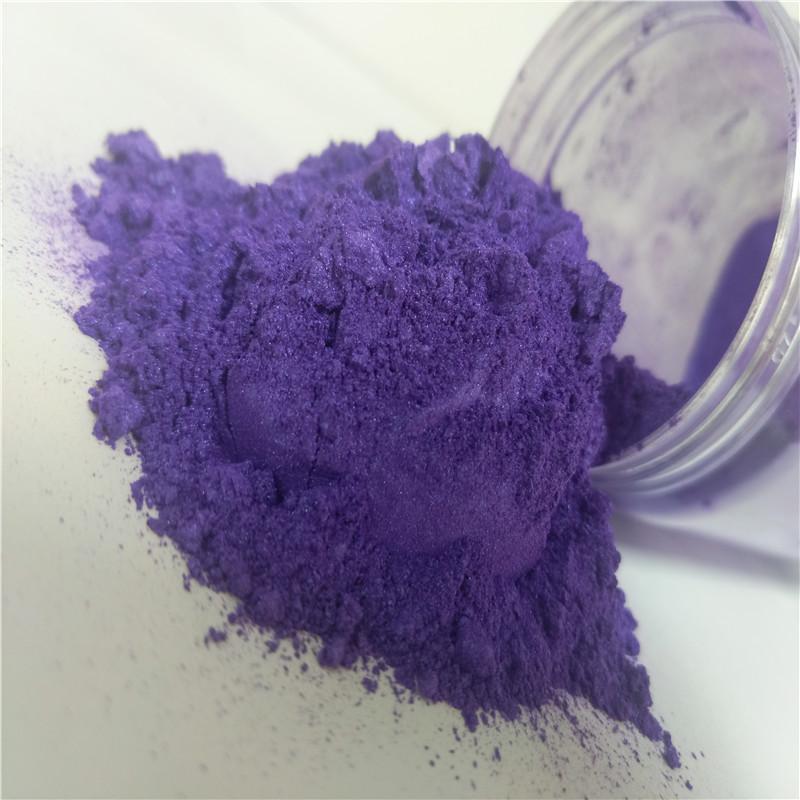 Cosmetic pearl powder, nail polish highlight pearlescent 2