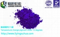 Thermosensitive color change powder for