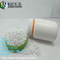 Injection molding high concentration white masterbatch 3