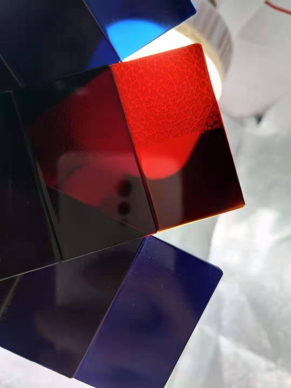 紅外線穿透PC探頭鏡片料 紅透 藍透 紫透 黑透 紅外線穿透PC原料 2