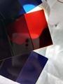 红外线穿透PC探头镜片料 红透 蓝透 紫透 黑透 红外线穿透PC原料 2