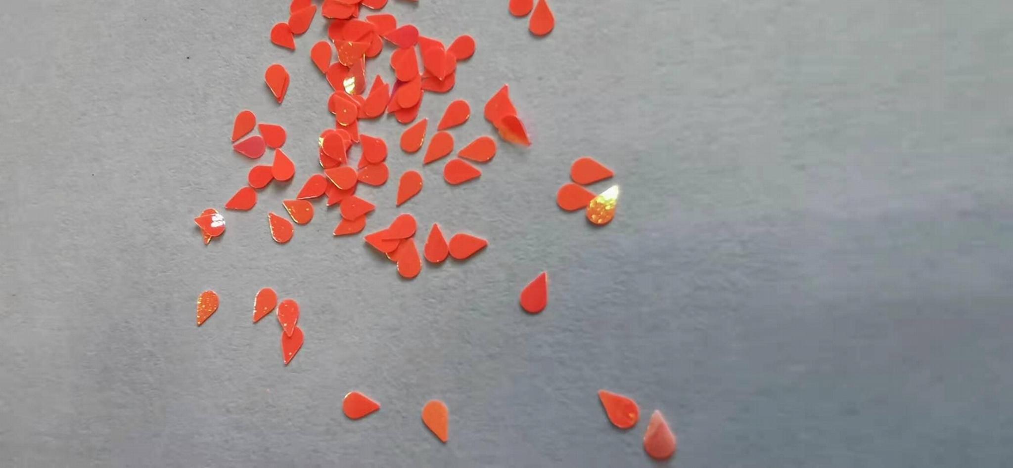 廠家貨源優質貨源聖誕禮品用鐳射粉異型金蔥粉閃光片 2