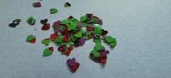 熱銷  優質批發彩虹色彩虹色閃光禮品工藝裝飾金蔥粉閃粉
