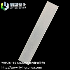 Large particle size acrylic frosted powder diffuser with high dispersion