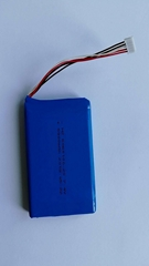 Rechargeable 6060100 Li Polymer Batteries 5000mAh 7.4V for Camera