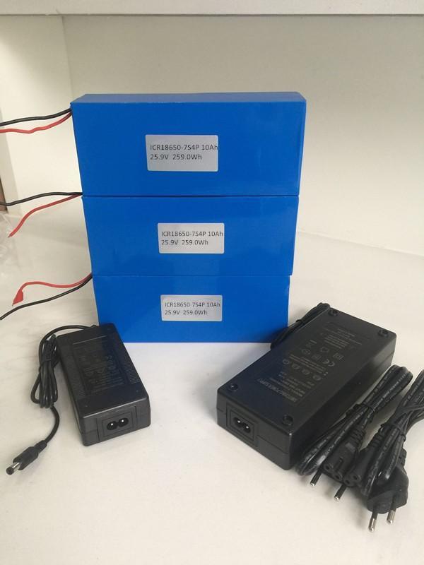 18650 battery 24V 25 9V 29 4V 10Ah rechargeable lithium