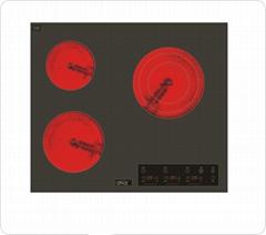 歐巴頓三頭嵌入式電陶爐