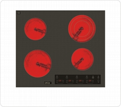 OBD 4-Zone Built-in Ceramic Infrared Cooker
