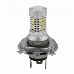 LED摩托車大燈 LED霧燈 LED車燈 22顆SMD H7 H4