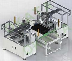 冈田东莞液晶电视组装锁螺丝自动化生产线