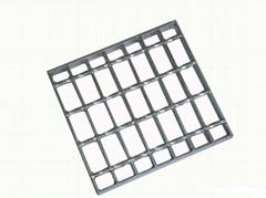 壓鎖鋼格板網