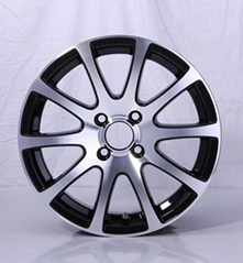alloy wheels for car 13/14/15 inch wheel
