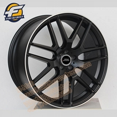 China custom 22 inch best price aluminium Y shape alloy wheels for cars