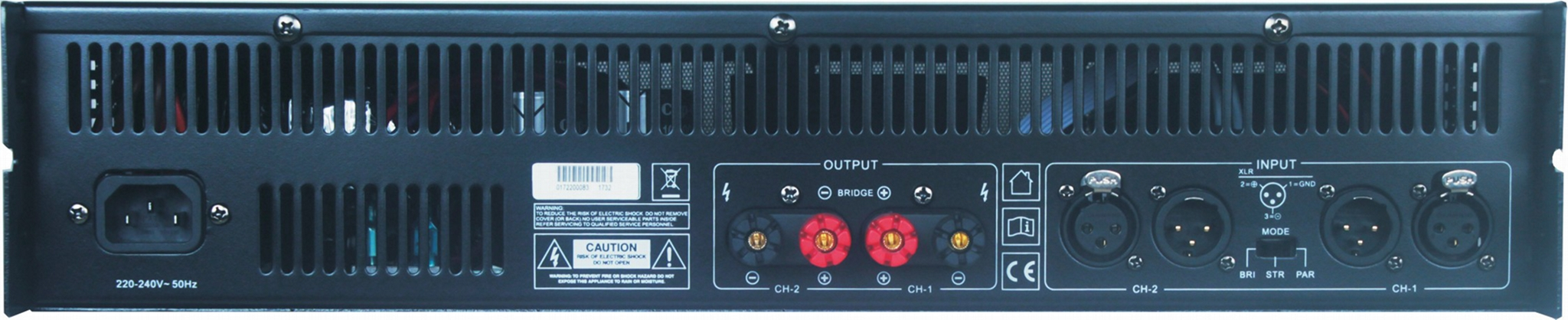 The power amplifier 2