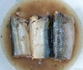 Canned mackerel in brine Preservation