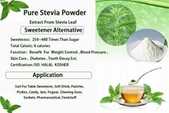 Herbal plant stevia leaf extract stevioside powder for pharmaceutical