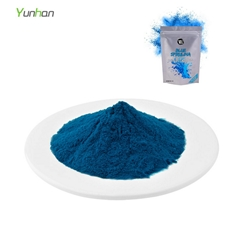 E18 Blue Pigment Spirulina Extract Price Phycocyanin Powder