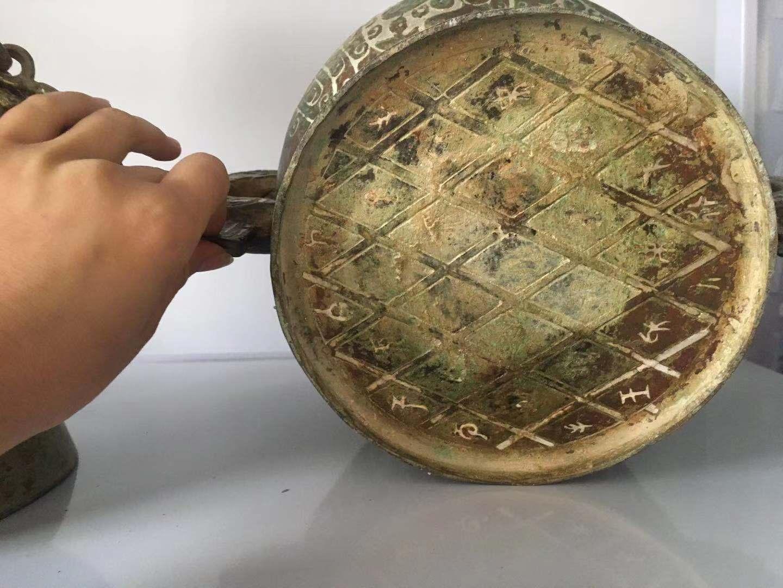 青铜厂商簋鎏银工艺河南文物修复复制定制 4